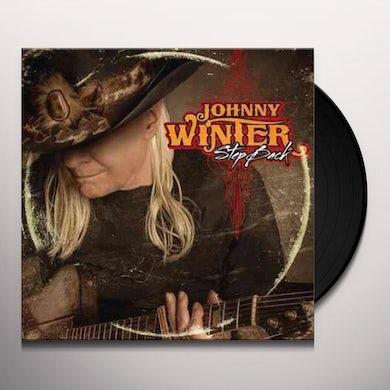 Johnny Winter STEP BACK Vinyl Record