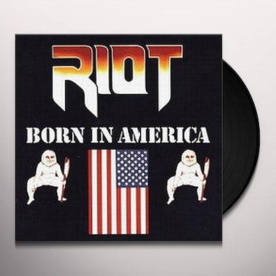 Riot BORN IN AMERICA Vinyl Record