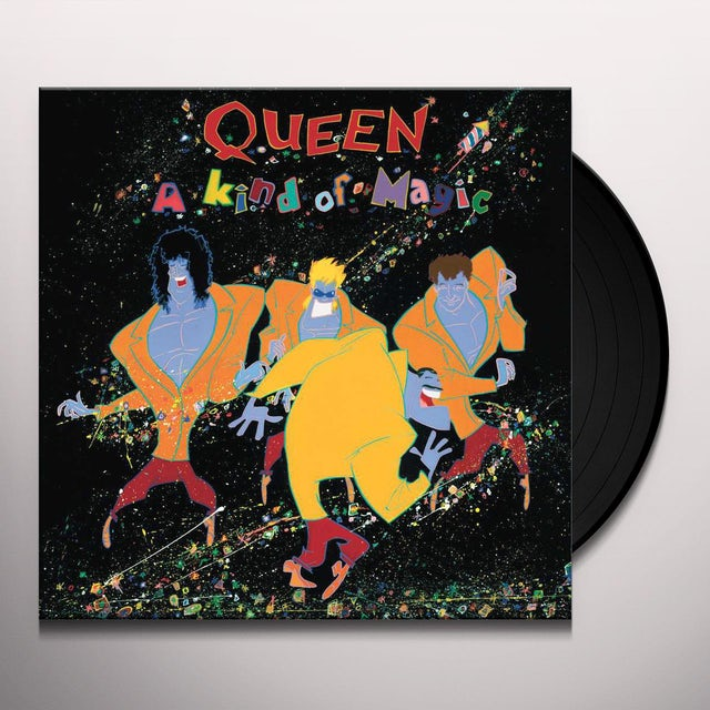 Queen KIND OF MAGIC Vinyl Record