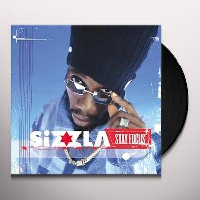 Sizzla STAY FOCUS Vinyl Record