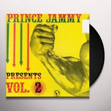 Prince Jammy PRESENTS VOL 2 Vinyl Record