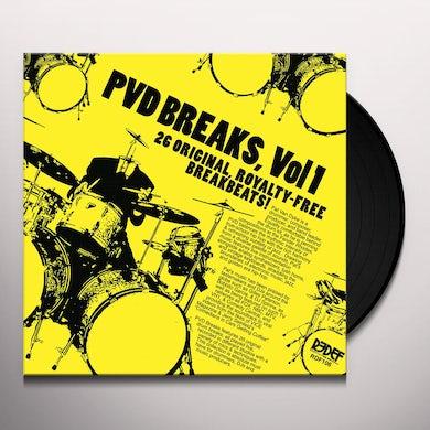 Pat Van Dyke PVD BREAKS VOL 1 (ROYALTY FREE BREAKS) Vinyl Record