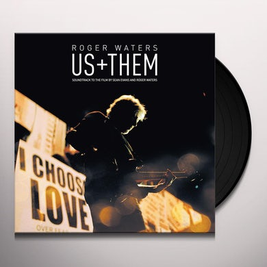 Roger Waters Us + Them Vinyl Record