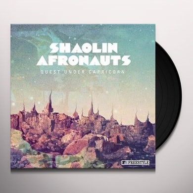 The Shaolin Afronauts QUEST UNDER CAPRICORN Vinyl Record