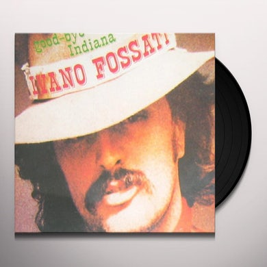 Ivano Fossati GOOD-BYE INDIANA Vinyl Record