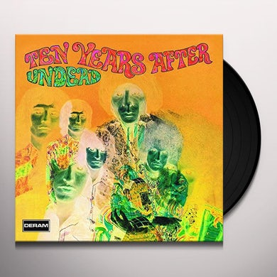 Ten Years After UNDEAD EXPANDED Vinyl Record