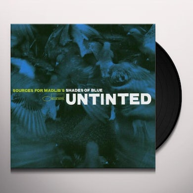 UNTINTED: SOURCES FOR MADLIB'S SHADES OF BLUE Vinyl Record