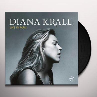 Diana Krall LIVE IN PARIS Vinyl Record