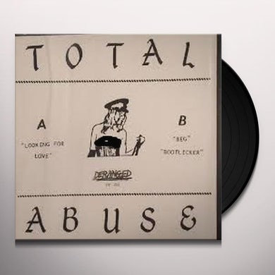 Total Abuse LOOKING FOR LOVE Vinyl Record