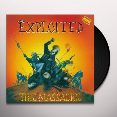 The Exploited MASSACRE (SPECIAL EDITION) Vinyl Record