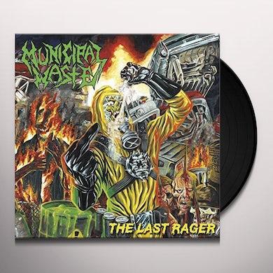 Municipal Waste LAST RAGER Vinyl Record