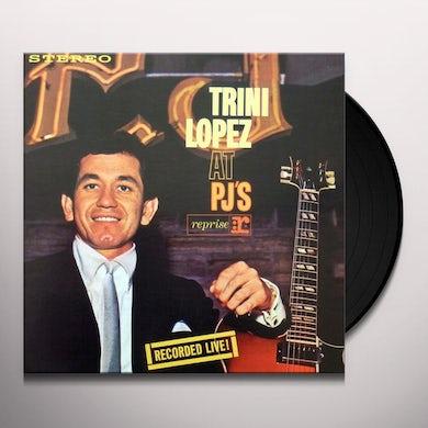 Trini Lopez AT PJ'S: RECORDED LIVE! (50TH ANNIVERSARY) Vinyl Record