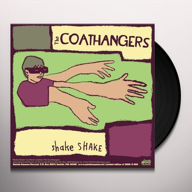 Coathangers SHAKE SHAKE / DREAMBOAT Vinyl Record