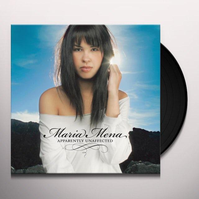 Maria Mena APPARENTLY UNAFFECTED Vinyl Record