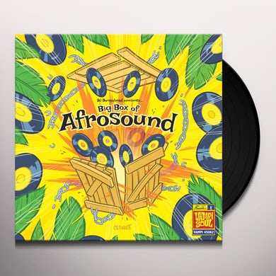 BIG BOX OF AFROSOUND / VARIOUS Vinyl Record