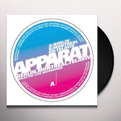 Apparat BERLIN MONTREAL TEL AVIV Vinyl Record