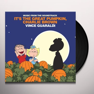 Vince Guaraldi IT'S THE GREAT PUMPKIN CHARLIE BROWN Vinyl Record