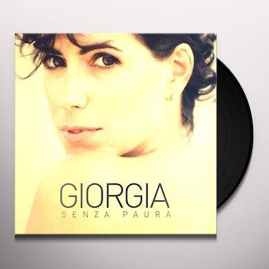 Giorgia SENZA PAURA Vinyl Record
