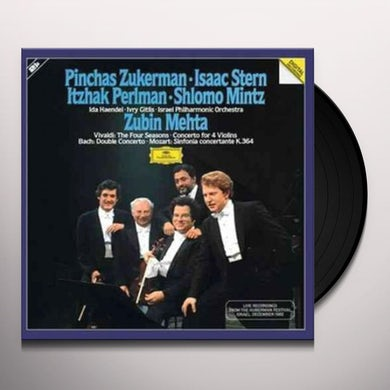 Pinchas Zukerman VIVALDI: THE FOUR SEASONS Vinyl Record - UK Release