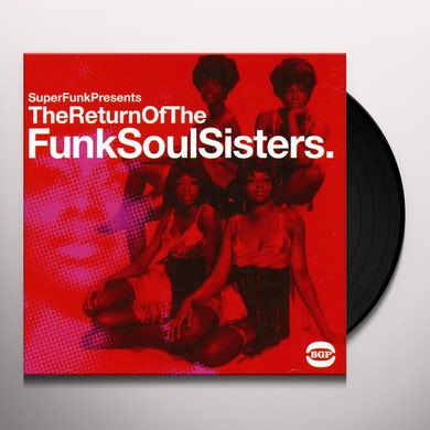 RETURN OF THE FUNK SOUL SISTERS / VARIOUS Vinyl Record