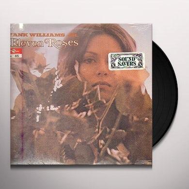 Hank Williams Jr. ELEVEN ROSES Vinyl Record