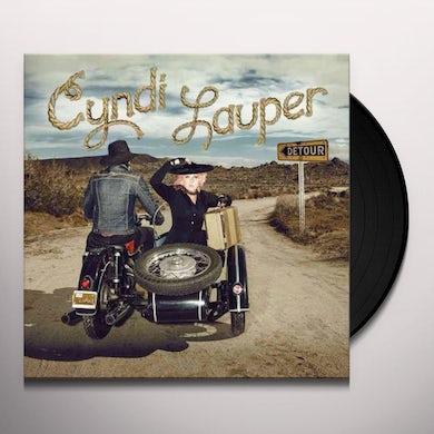 Cyndi Lauper DETOUR Vinyl Record