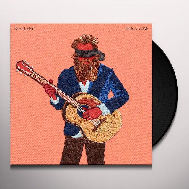 Iron & Wine BEAST EPIC Vinyl Record