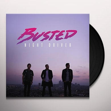 Busted NIGHT DRIVER Vinyl Record
