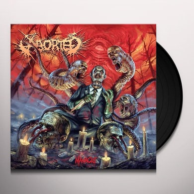 Aborted MANIACULT Vinyl Record