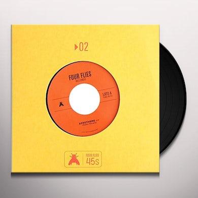 Paolo Ferrara AFROTHEME / PERCUSSION BLUES / Original Soundtrack Vinyl Record