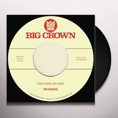 Shacks & Brainstory SMILE NOW, CRY LATER B/W RUNAWAY Vinyl Record