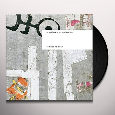 SILENCE IS SEXY Vinyl Record