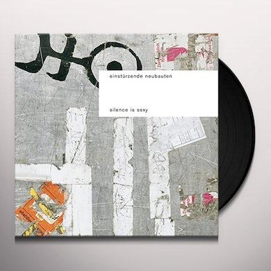Einstürzende Neubauten SILENCE IS SEXY Vinyl Record