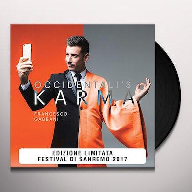 Francesco Gabbani OCCIDENTALI'S KARMA Vinyl Record