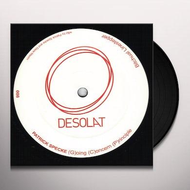 Patrick Specke G(OING) C(ONCERN) P(RINCIPLE) Vinyl Record