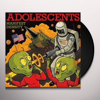 Adolescents MANIFEST DESTINY Vinyl Record