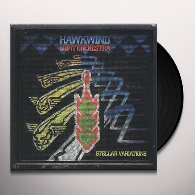 Hawkwind Light Orchestra STELLAR VARIATIONS Vinyl Record