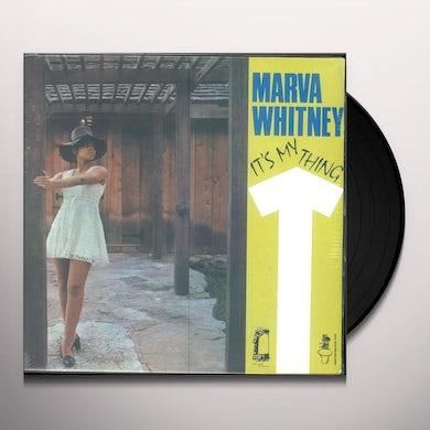 Marva Whitney IT'S MY THING Vinyl Record