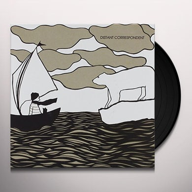 Distant Correspondent SHATTER/BADLANDS Vinyl Record