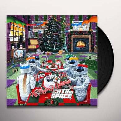 CATS IN SPACE MY KIND OF CHRISTMAS Vinyl Record