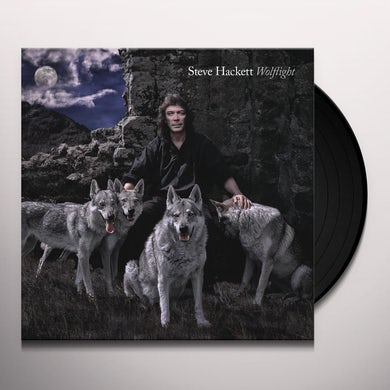 Steve Hackett WOLFLIGHT Vinyl Record