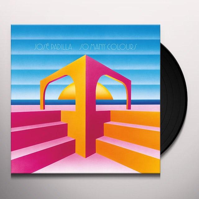 Jose Padilla SO MANY COLOURS Vinyl Record