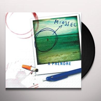 Miossec A PRENDRE Vinyl Record