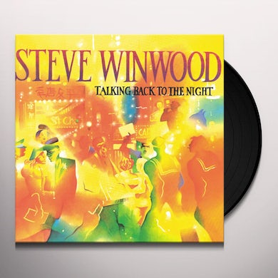 Steve Winwood TALKING BACK TO THE NIGHT Vinyl Record