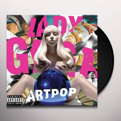 Lady Gaga ARTPOP Vinyl Record