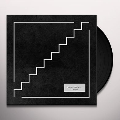 Pentimento I NO LONGER (WHITE WITH DARK BLUE & YELLOW TWISTER Vinyl Record