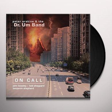 Peter Erskine ON CALL Vinyl Record
