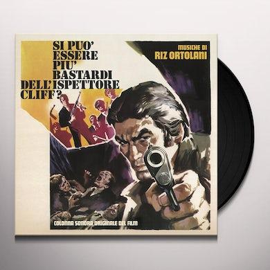 Riz Ortolani SI PUO ESSERE PIU BASTARDI DELL'ISPETTORE CLIFF? Vinyl Record