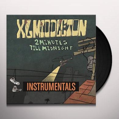 Xl Middleton 2 MINUTES TILL MIDNIGHT INSTRUMENTALS Vinyl Record