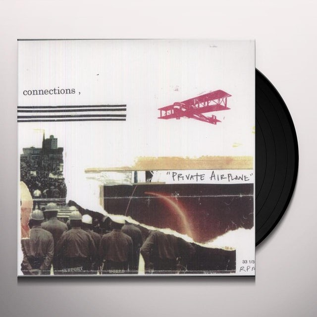 Connections PRIVATE AIRPLANE Vinyl Record